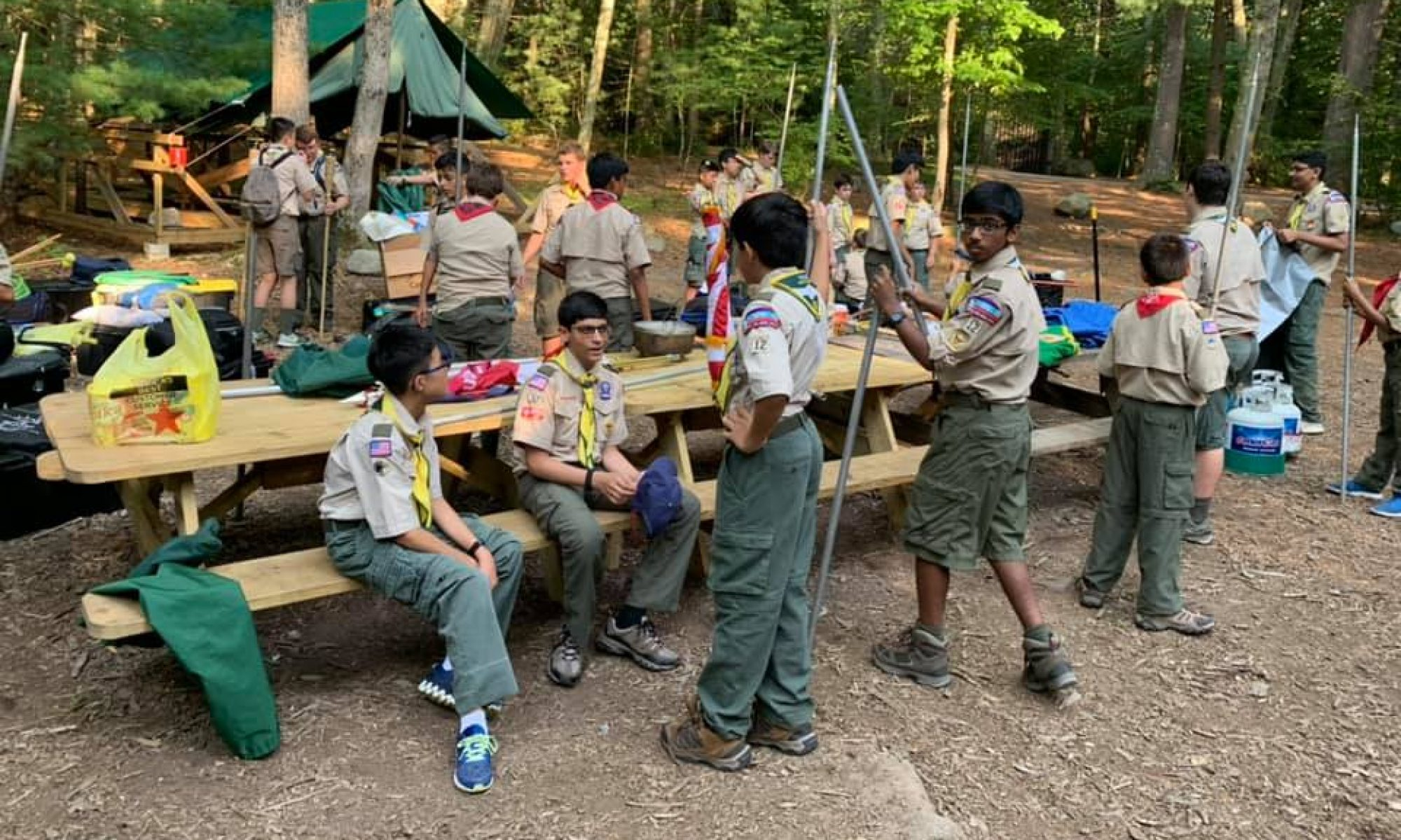 BSA Troop 12 -- Livingston NJ